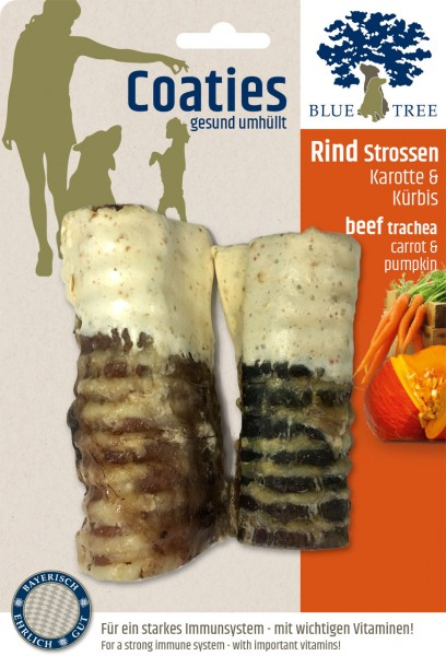 BT Coaties Rind Strossen 100g VE=1